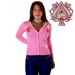 Cardigan Crazy Clothing Rose Langue
