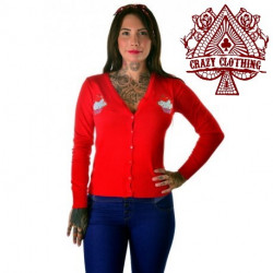 Cardigan Crazy Clothing Rouge Cup Cake