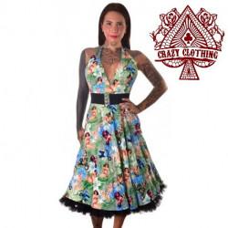 Robe Marilyn Crazy Clothing Pinup Vespa