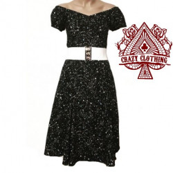 Robe Spring Crazy Clothing Noire Star