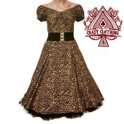Robe Spring Crazy Clothing Leopard