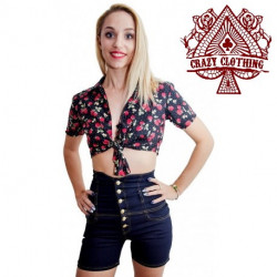 Short Taille Haute Crazy Clothing Classic F