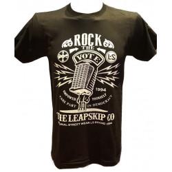 T-Shirt Rock the Vote Noir