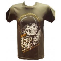 T-Shirt Casque Military Gris