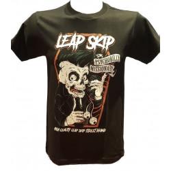 T-Shirt Leap Skip Psycho Noir