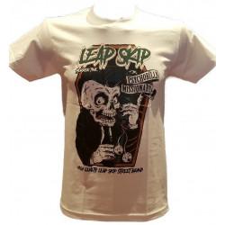 T-Shirt Leap Skip Psycho Blanc