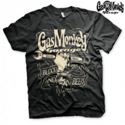 T-Shirt Gas Monkey Garage GMG WRENCH