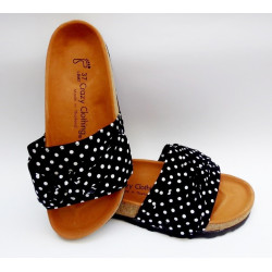 Sandales Crazy Clothing Noir Pois 3