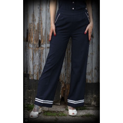 Pantalon Taille Haute Sailor Marlene Rumble 59