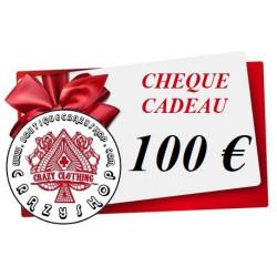 Cheque Cadeau 100e
