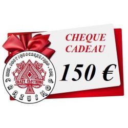 Cheque Cadeau 150e